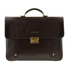 Мужской кожаный портфель Bn044C - Royalbag Фото 2