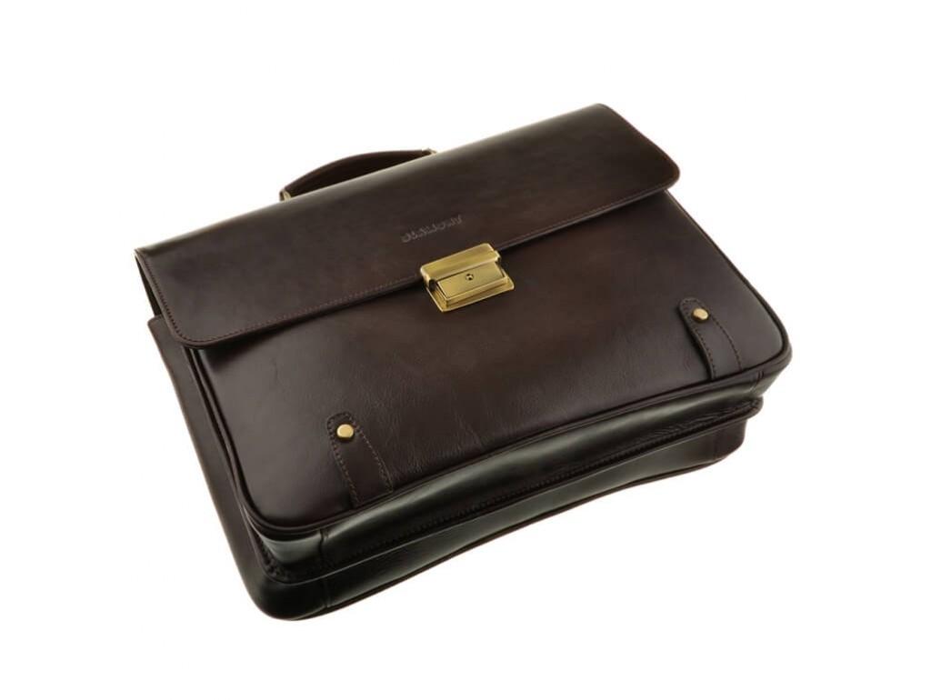 Мужской кожаный портфель Bn044C - Royalbag