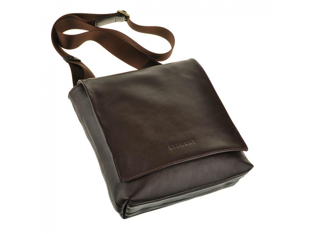 Мужская сумка через плечо из натуральной кожи Blamont Bn027C - Royalbag