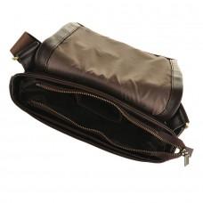 Чоловіча сумка через плече з натуральної шкіри Blamont Bn027C - Royalbag