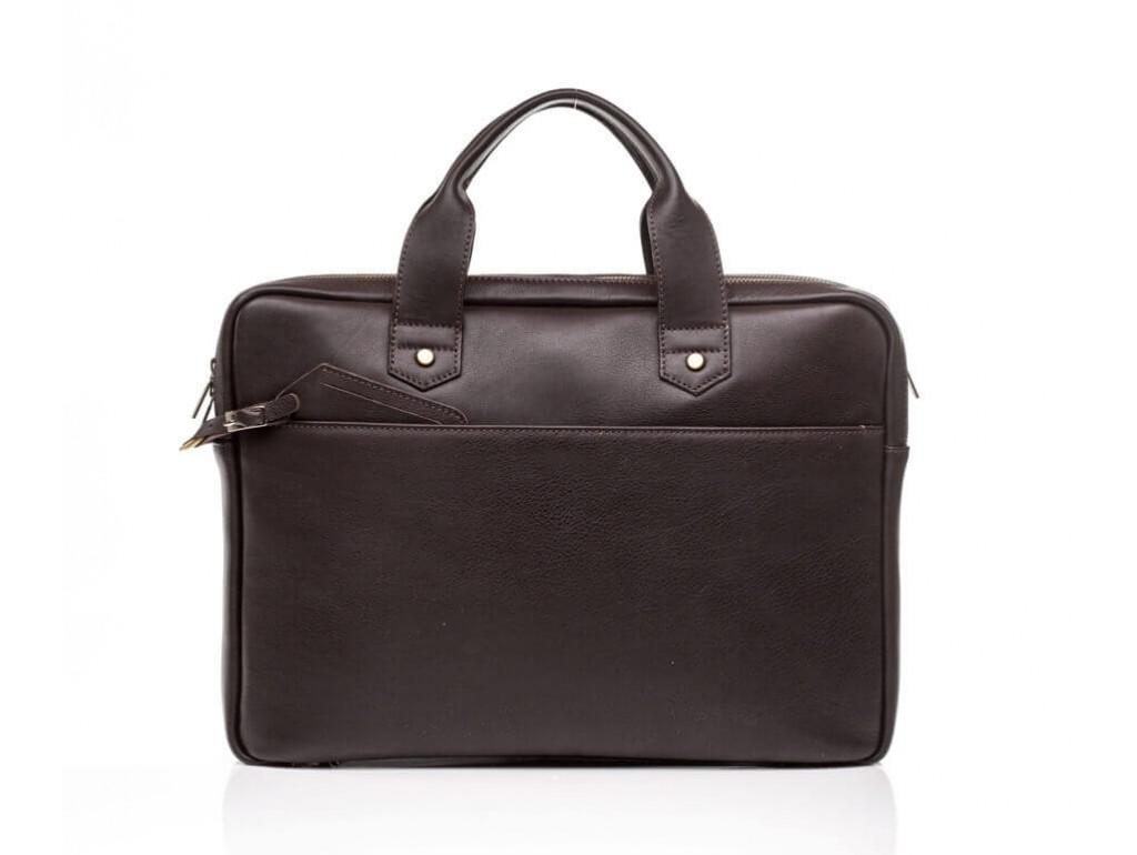 Мужская кожаная сумка для документов премиального качества Blamont Bn012C - Royalbag