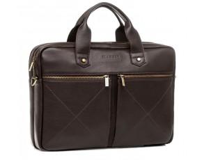 Чоловіча шкіряна сумка для документів преміальної якості Blamont Bn012C - Royalbag