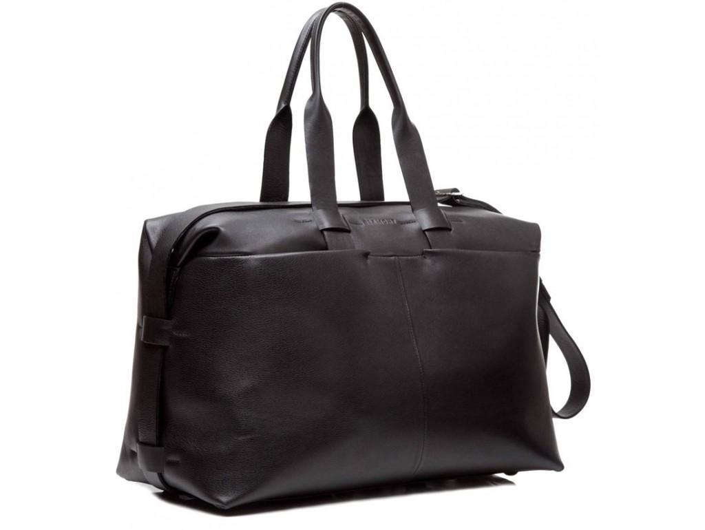 Люксовая дорожная сумка высокого качества с кожаным ремнем Blamont Bn072A - Royalbag Фото 1