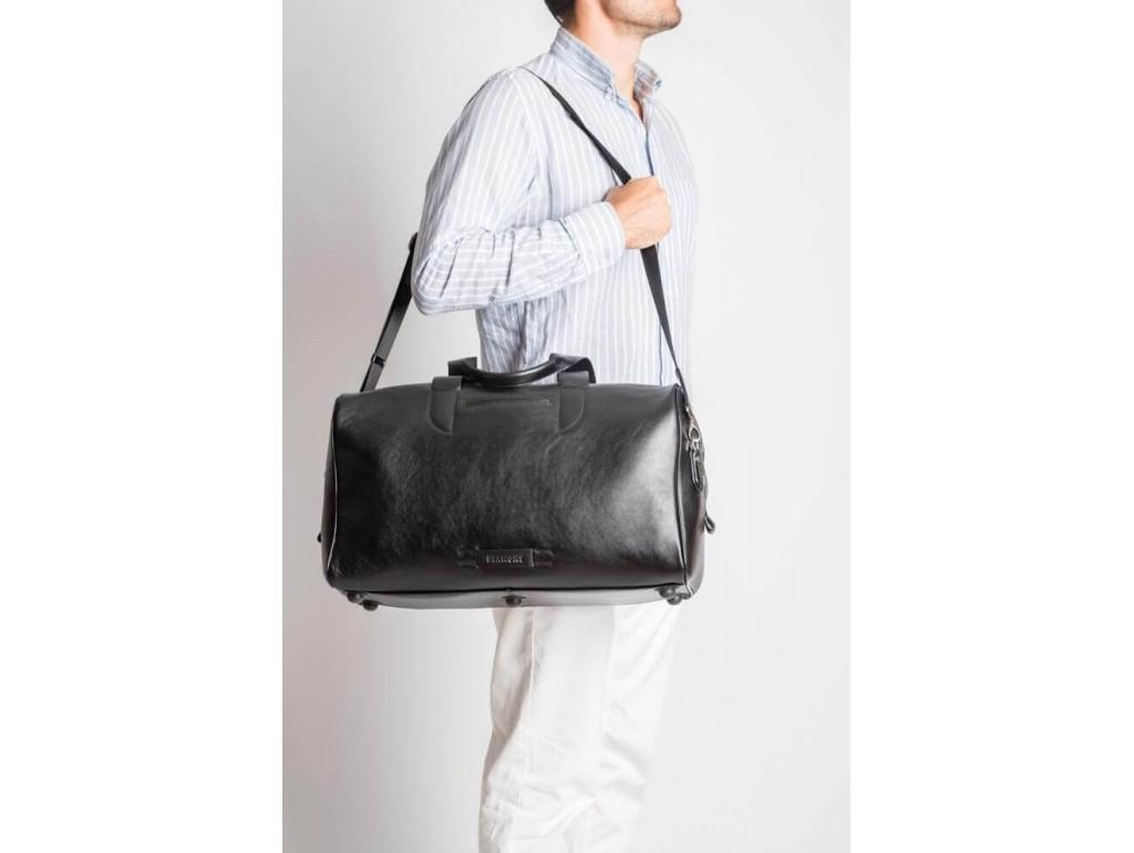 Дорожная сумка премиум-класса из натуральной итальянской кожи Blamont Bn073A - Royalbag