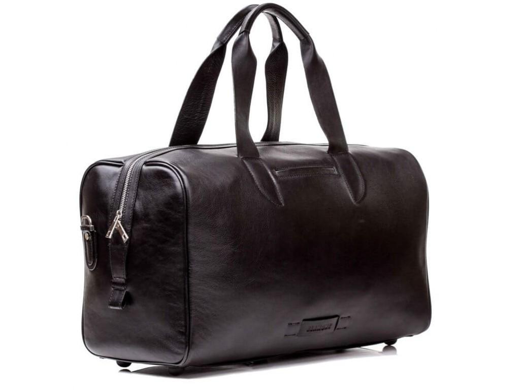 Дорожная сумка премиум-класса из натуральной итальянской кожи Blamont Bn073A - Royalbag Фото 1