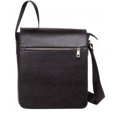 Мужская сумка через плечо из итальянской гладкой кожи Blamont Bn091A - Royalbag