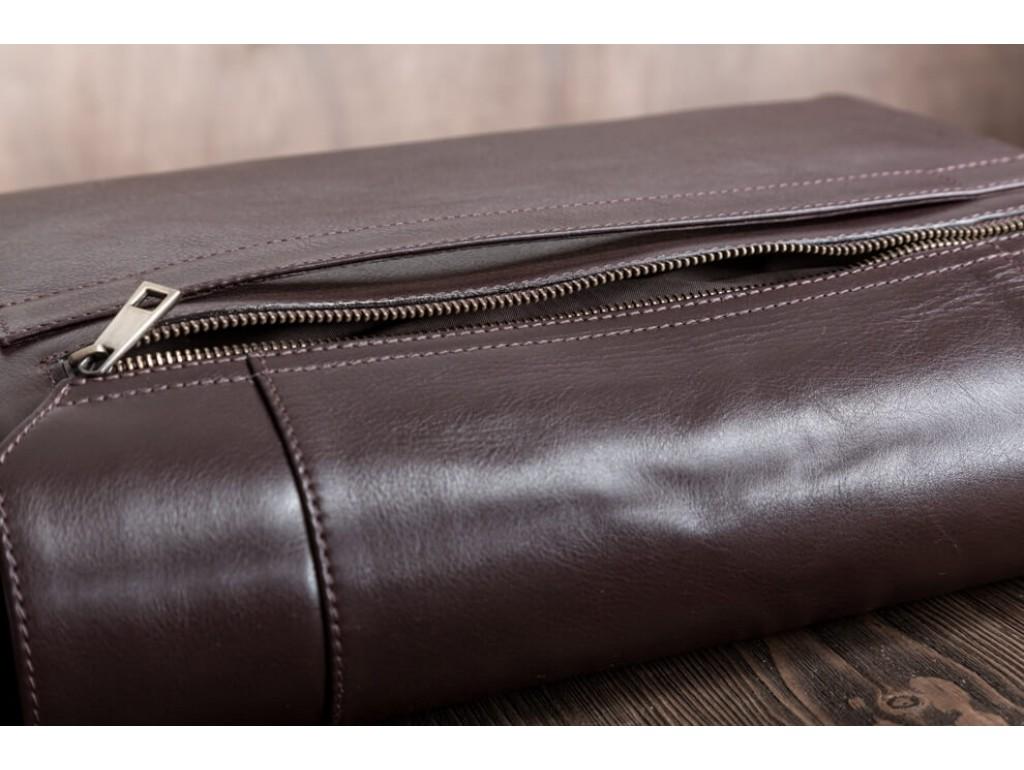 Мужская сумка через плечо под документы из натуральной кожи Blamont Bn092C - Royalbag