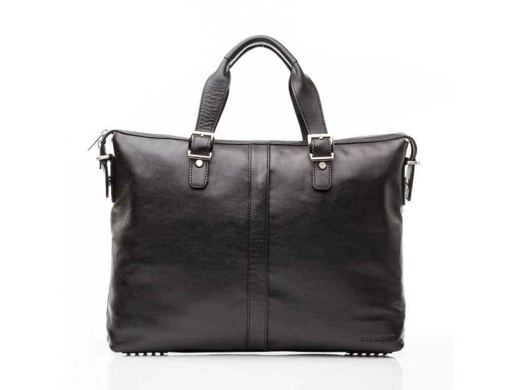 Офисная мужская кожаная сумка для ноутбука и документов А4 Blamont Bn004A - Royalbag