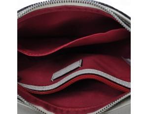 Жіноча шкіряна сумочка-клатч з ремінцем-ланцюжком Forstmann  F-P26KH - Royalbag