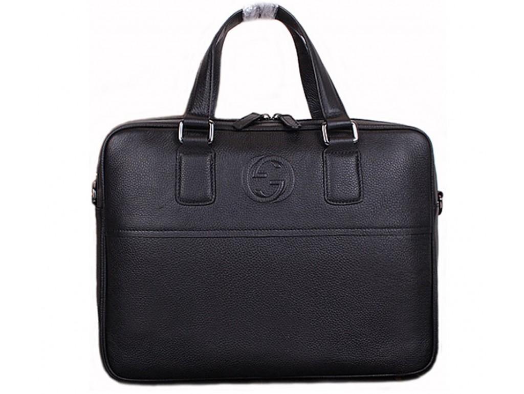 Мужская сумка Gu009 - Royalbag Фото 1