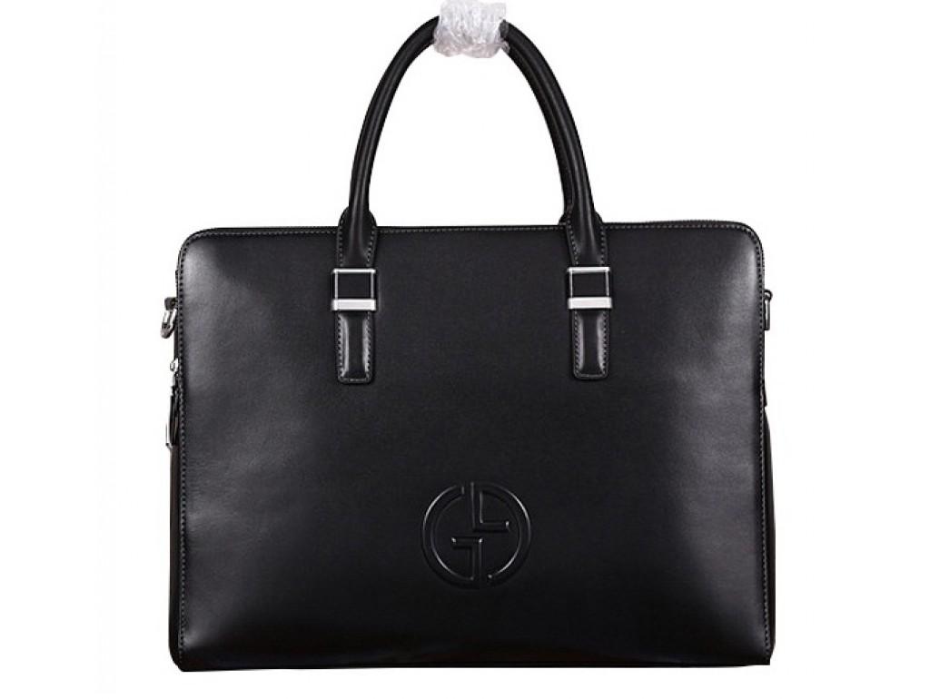 Мужская сумка Gu069 - Royalbag Фото 1
