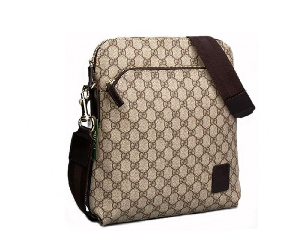 Мужская сумка Gu056 - Royalbag Фото 1