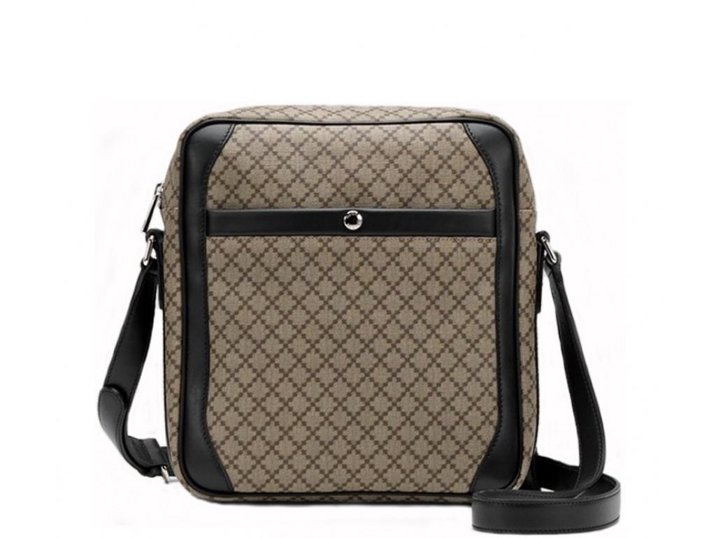 Мужская сумка Gu047 - Royalbag Фото 1