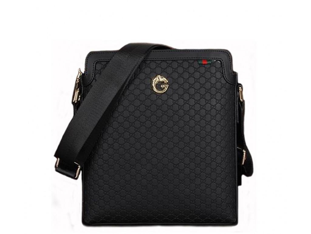 Мужская сумка Gu030 - Royalbag Фото 1
