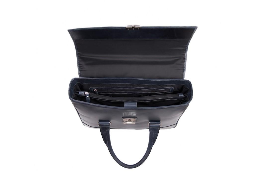 Кожаный портфель Issa Hara B25BL - Royalbag