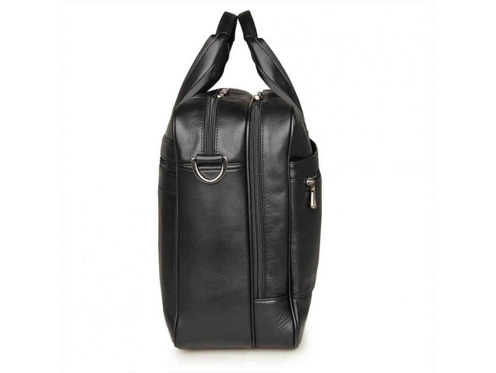 Містка ділова сумка-портфель для документів і ноутбука 17 дюймов Jasper&Maine 7319A - Royalbag