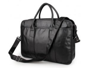 Сумка-портфель ділова з натуральної  шкіри чоловіча Jasper&Maine 7321A - Royalbag