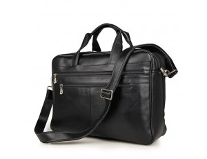 Вместительная деловая сумка-портфель для документов и ноутбука 17 дюймов Jasper&Maine 7319A - Royalbag
