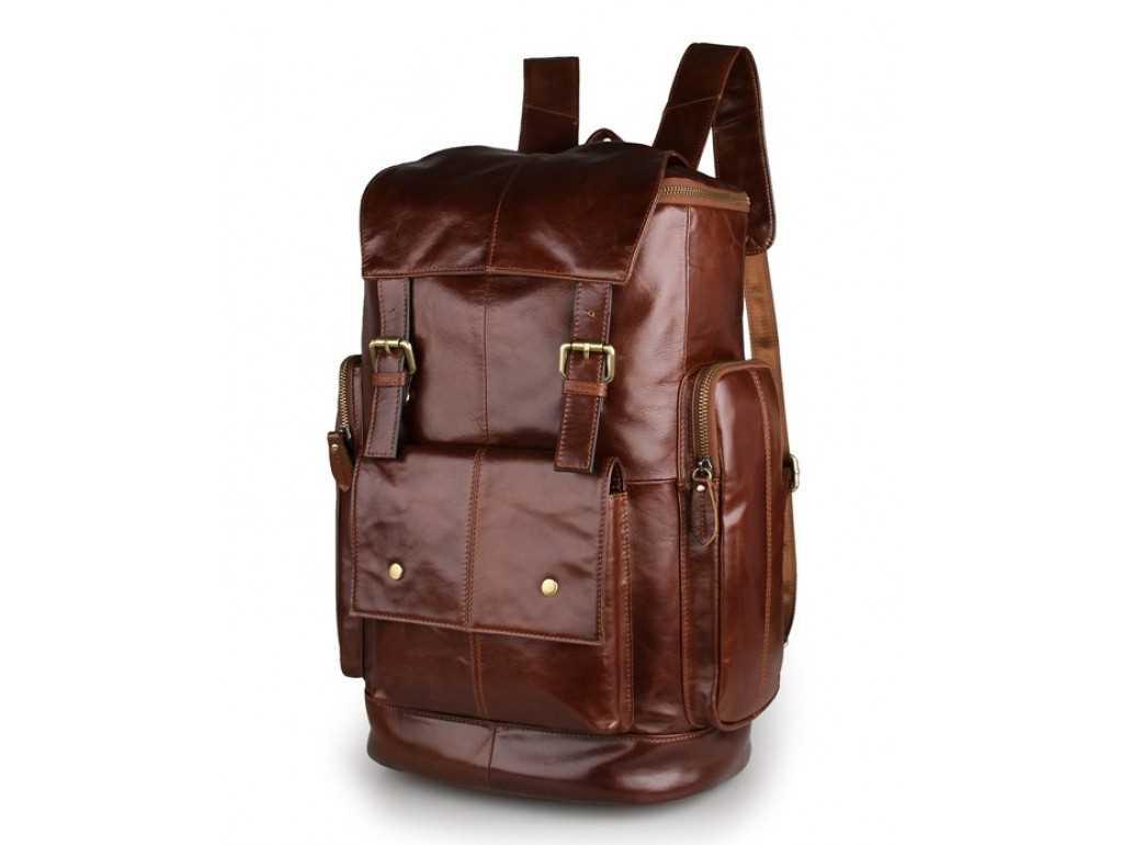 Рюкзак кожаный TIDING BAG 7311B - Royalbag Фото 1