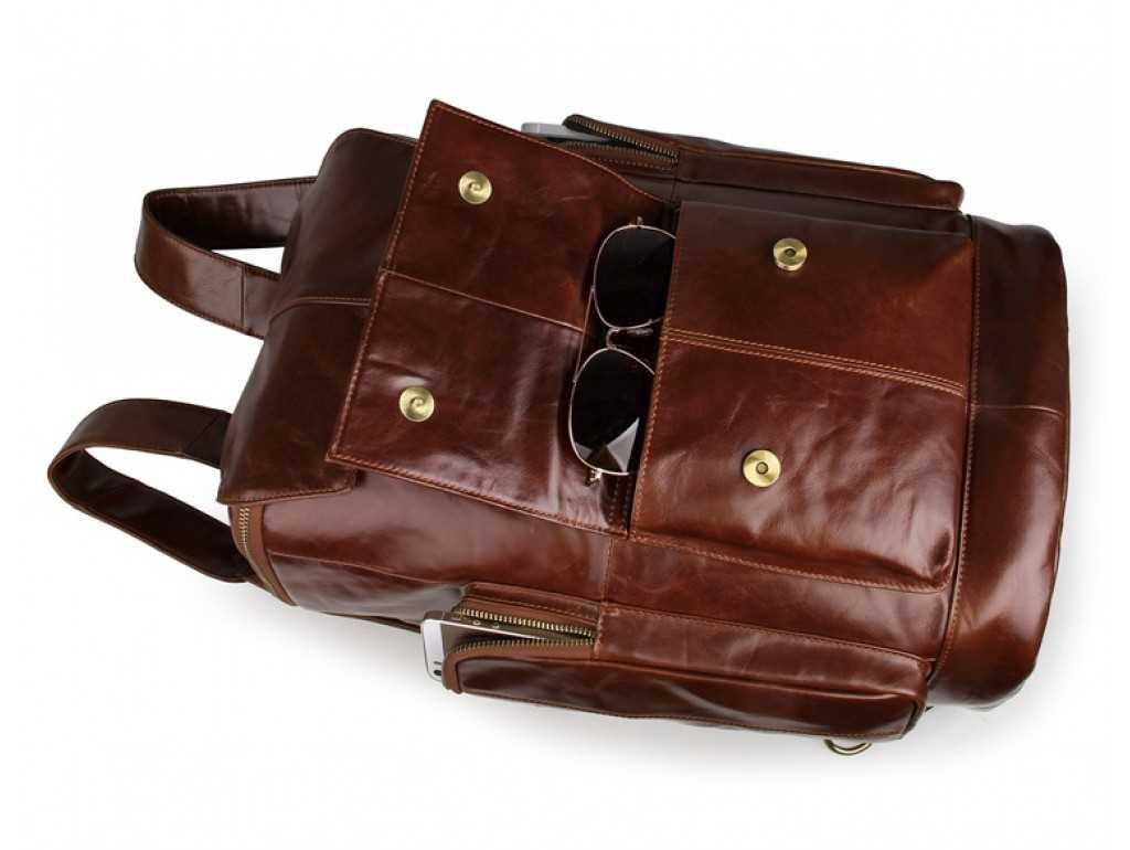 Рюкзак кожаный TIDING BAG 7311B - Royalbag