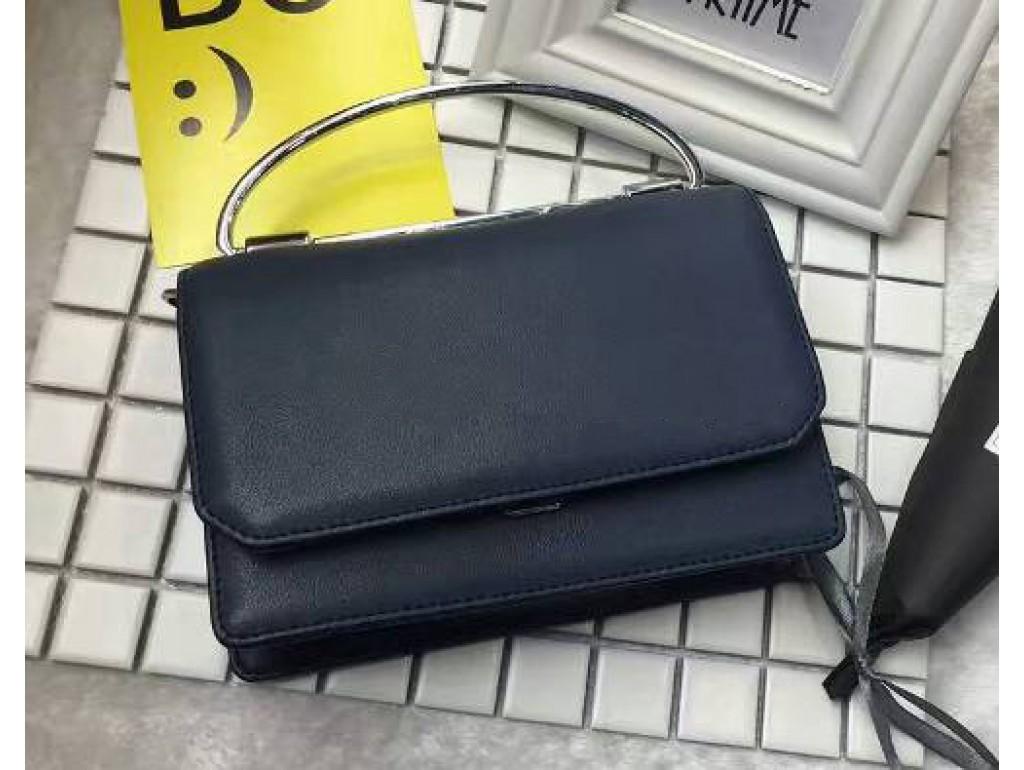 Женская сумка Karfei 18-15107-01BL - Royalbag Фото 1