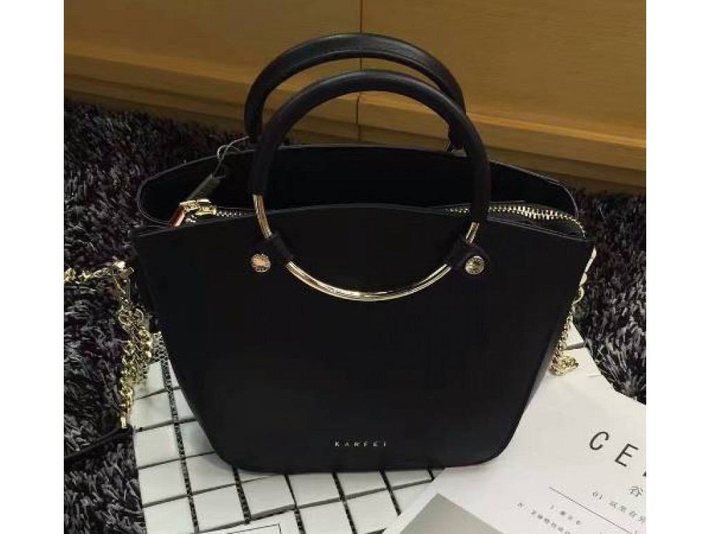 Женская сумка Karfei 18-15115-01A - Royalbag Фото 1