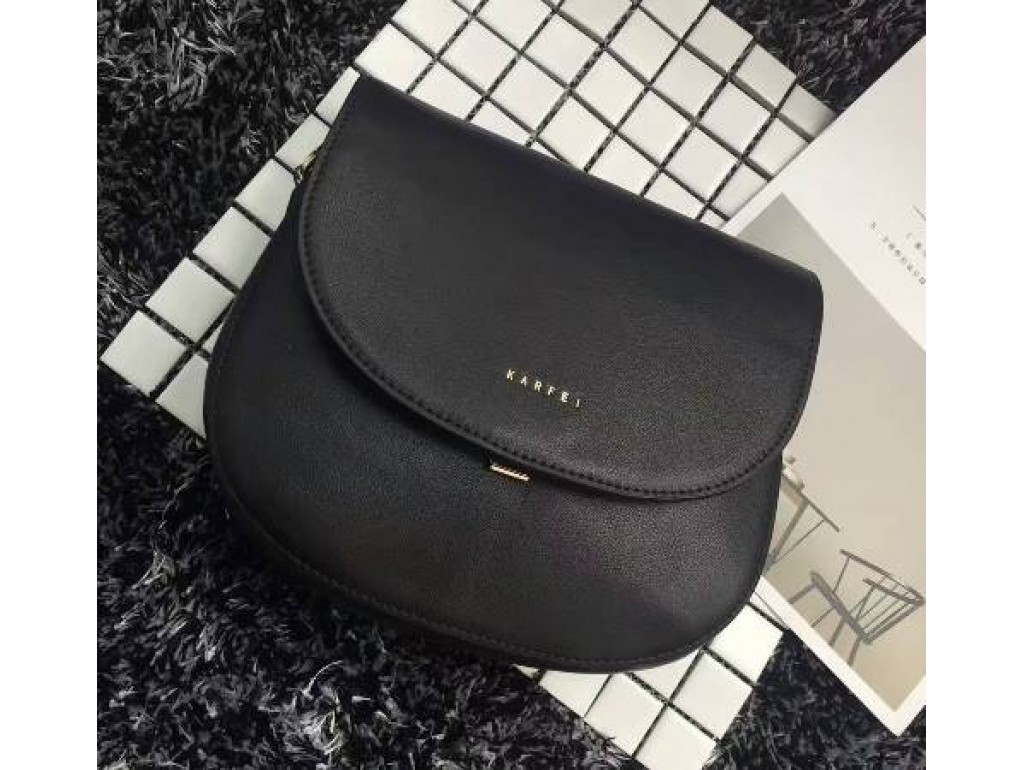 Женская сумка Karfei 18-15120-01A - Royalbag Фото 1