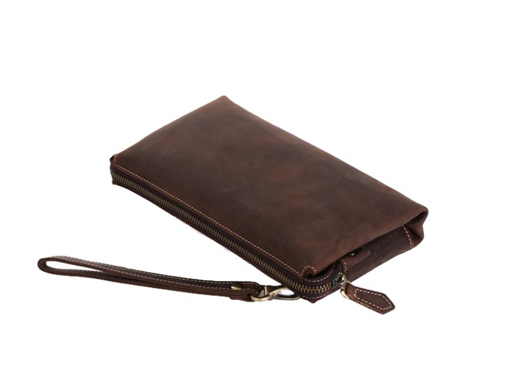 Мужской кожаный клатч t4058 - Royalbag Фото 1