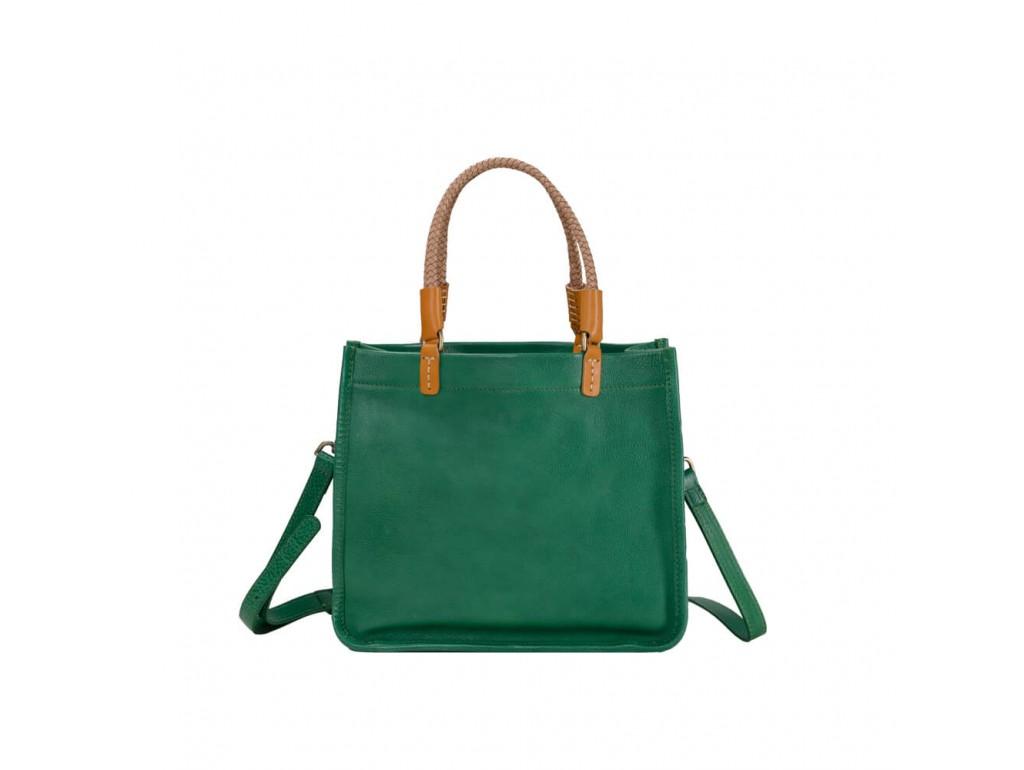 Женская сумка L.D M47W-2809GR - Royalbag Фото 1