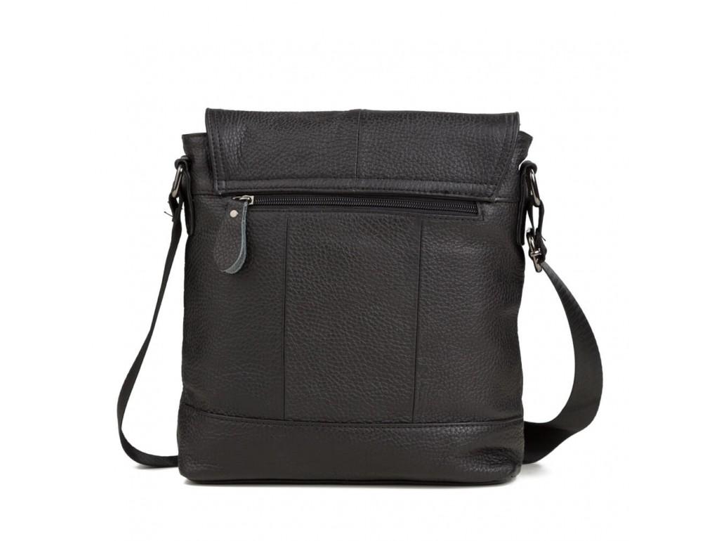 Наплечная мужская сумка кожаная с клапаном Tiding Bag M38-3822A - Royalbag