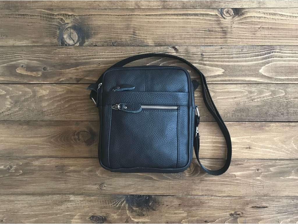 Мужская сумка через плечо кожа Tiding Bag M38-3922A - Royalbag