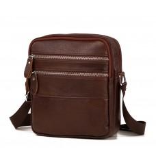 Небольшая мужская сумка на плечо Tiding Bag M38-3923C - Royalbag