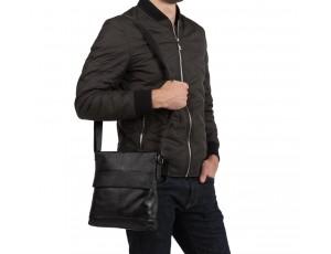 Мужская сумка через плечо натуральная кожа Tiding Bag M38-8136A - Royalbag