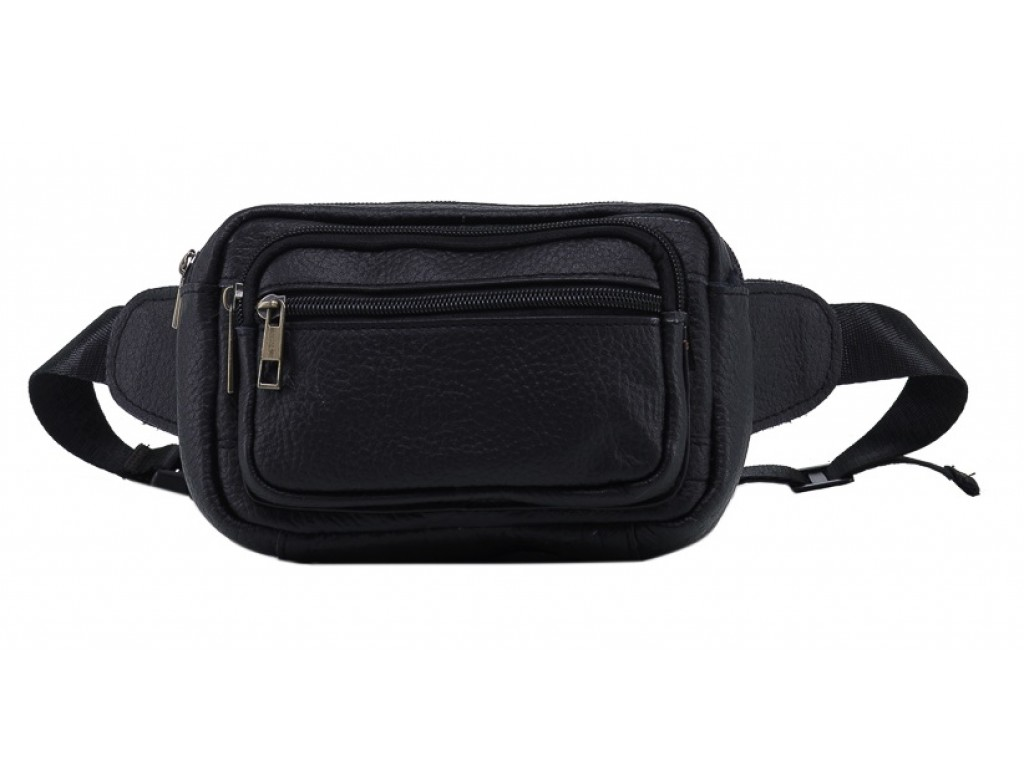 Кожаная сумка на пояс TIDING BAG M38-8219A - Royalbag Фото 1