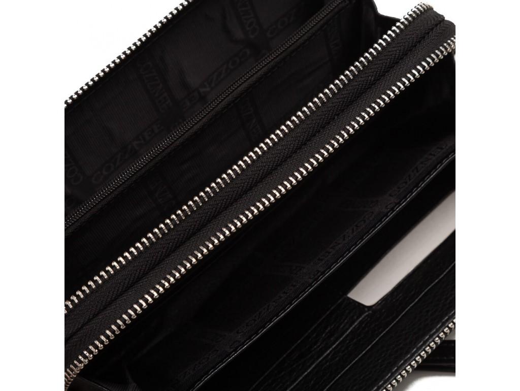Клатч черный Horton TR5M-895 - Royalbag