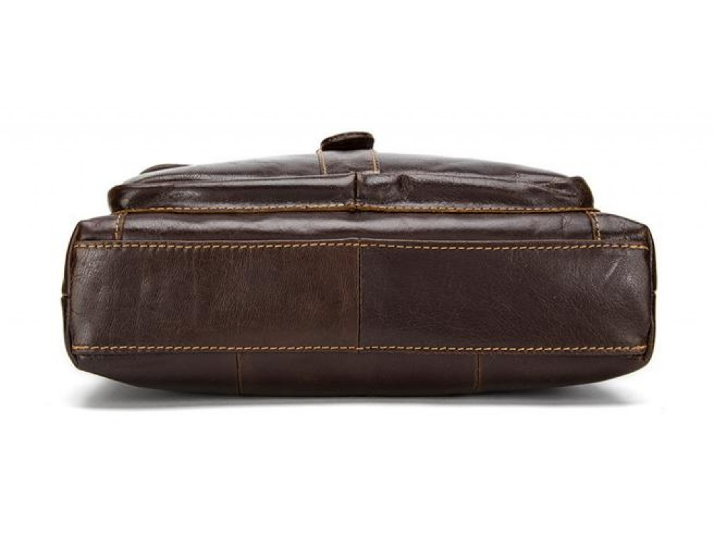 Большая мужская сумка через плечо из натуральной кожи Bexhill Bx1292C - Royalbag
