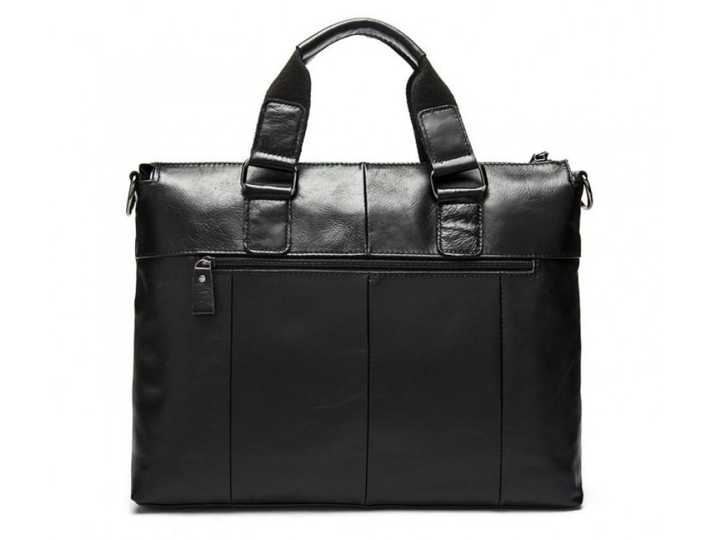 Сумка-портфель мужская деловая для ноутбука и документов Tiding Bag 7264A - Royalbag