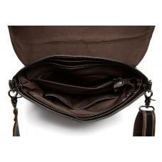 Чоловіча шкіряна сумка через плече горизонтальна Bexhill Bx8007C - Royalbag