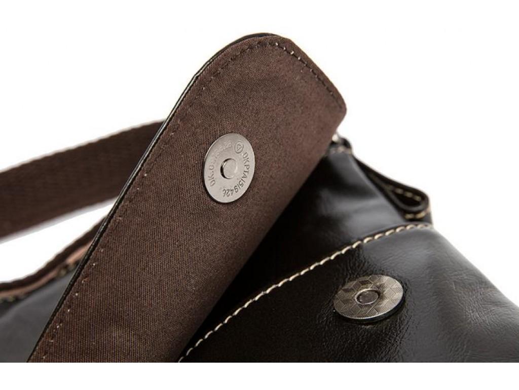 Мужская кожаная сумка через плечо горизонтальная Bexhill Bx8007C - Royalbag