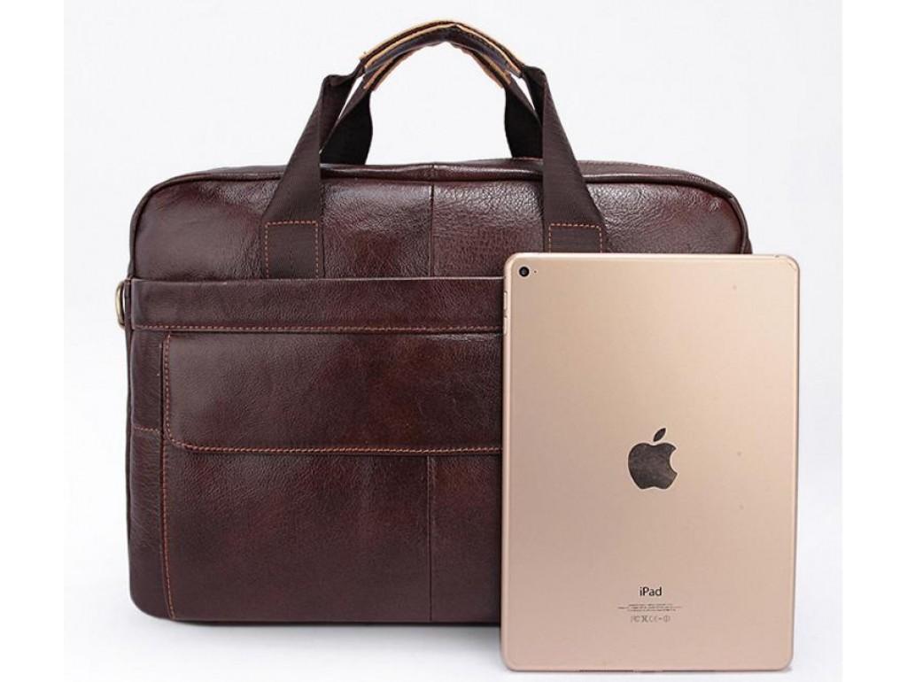 Мужская кожаная сумка для ноутбука и документов Bexhill Bx1131C - Royalbag