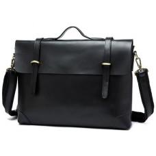 Мужской кожаный портфель TIDING BAG 7082A - Royalbag Фото 2