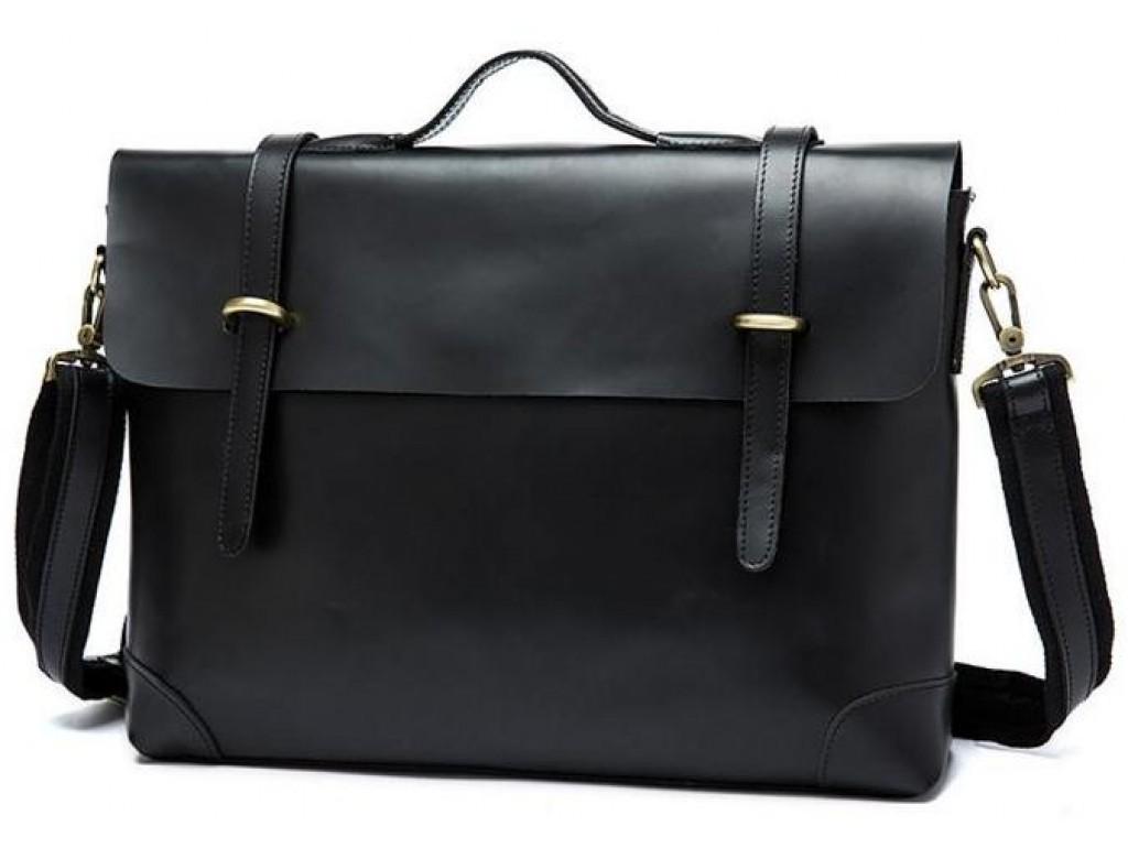 Мужской кожаный портфель TIDING BAG 7082A - Royalbag Фото 1