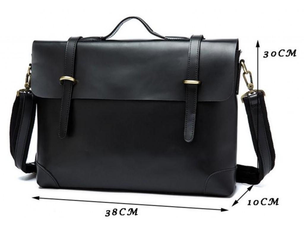 Мужской кожаный портфель TIDING BAG 7082A - Royalbag