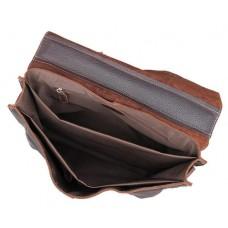 Мужской кожаный портфель TIDING BAG 7090R