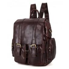 Рюкзак кожаный TIDING BAG 7123C-1 - Royalbag Фото 2