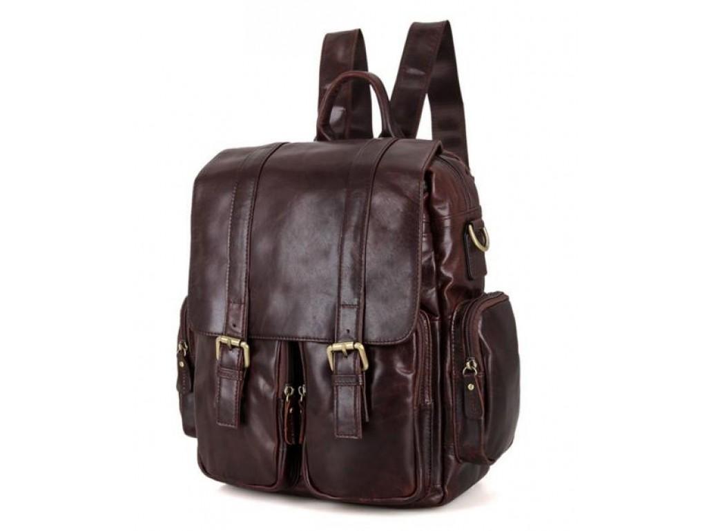 Рюкзак кожаный TIDING BAG 7123C-1 - Royalbag Фото 1