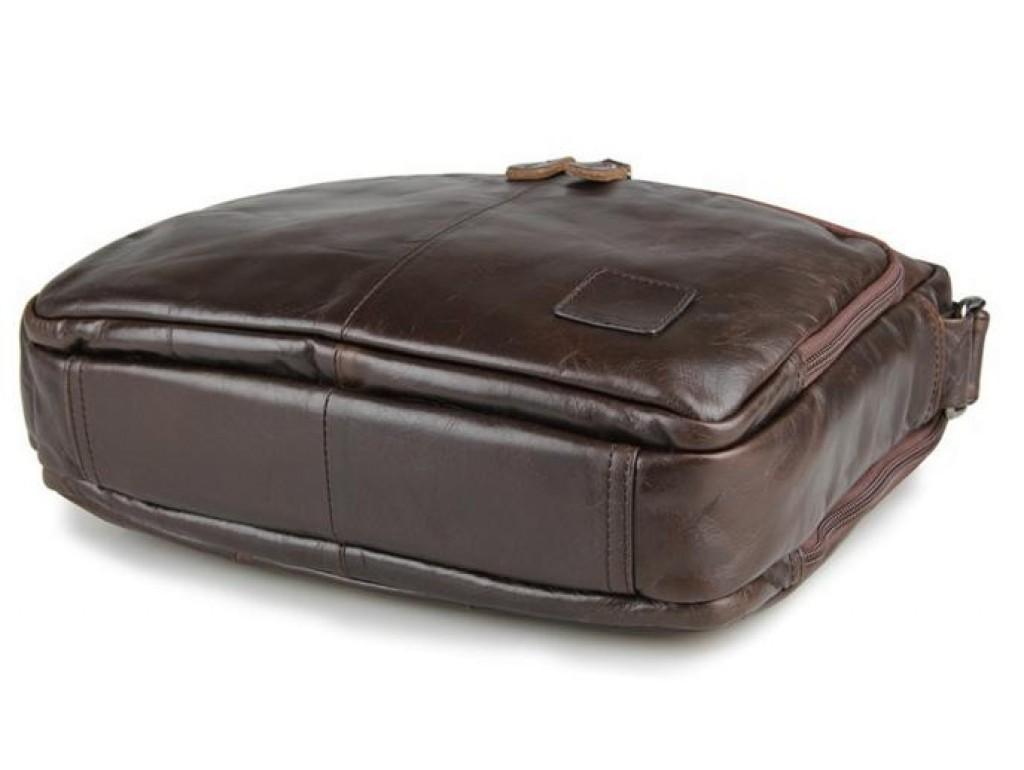 Мужской мессенджер натуральная кожа три отдела TIDING BAG 7332C - Royalbag