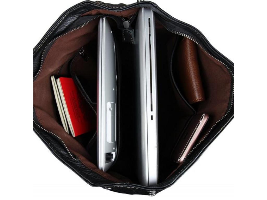 Рюкзак кожаный TIDING BAG 7335A - Royalbag