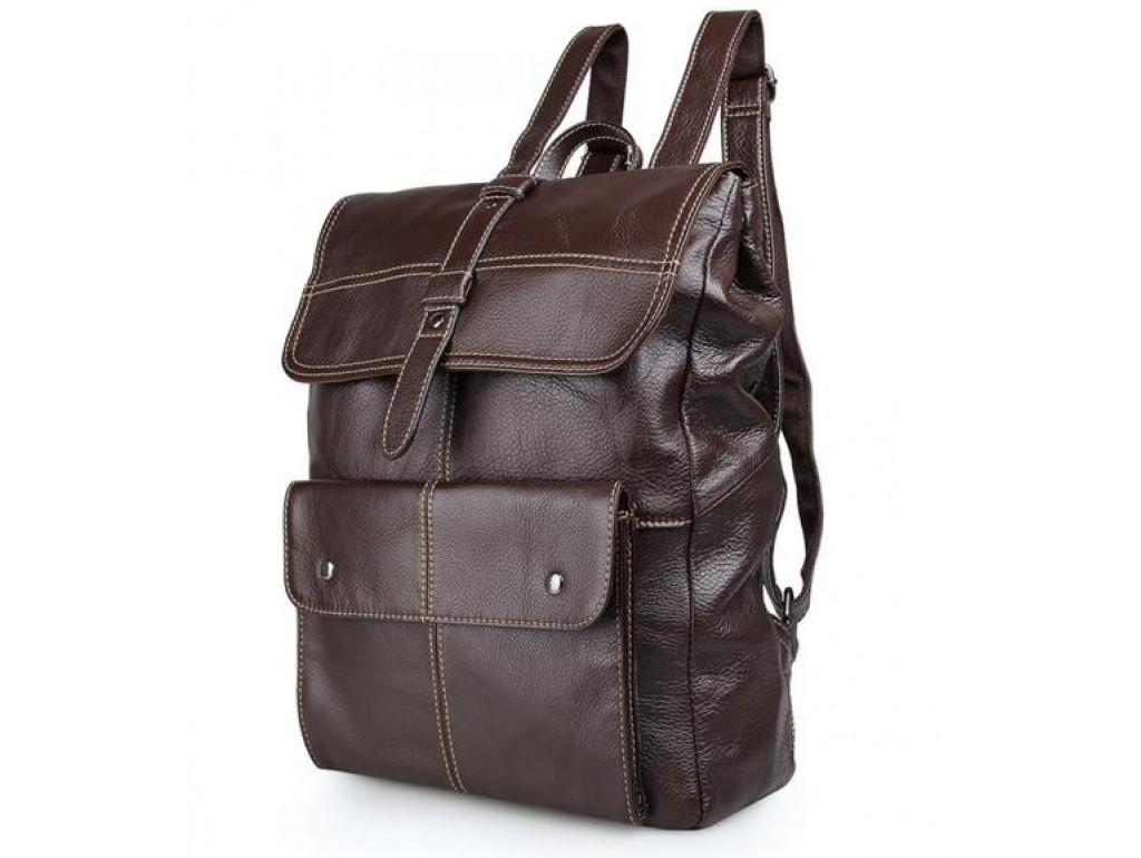 Рюкзак кожаный TIDING BAG 7335C - Royalbag Фото 1