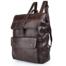 Рюкзак кожаный TIDING BAG 7335C - Royalbag Фото 2